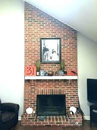 how to reface a fireplace with tile fireplace refinish fireplace refinish refinish brick fireplace refacing brick