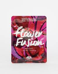 Origins | <b>Origins Flower Fusion</b> Hydrating Sheet Mask - Rose