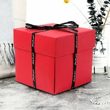 diy explosion box love box birthday gift sbook photo al wedding favors