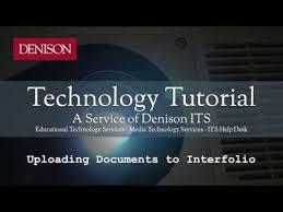 interfolio upload letter of recommendation uploading documents to interfolio youtube