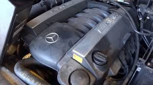 Selling an engine from a 2002 Mercedes Benz ML55 with 116,305 ...