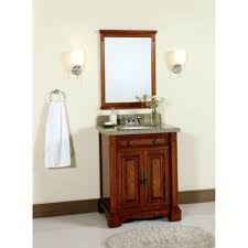 Bathroom Vanity Accessory Sets Lanza 28 Single Bathroom Vanity Set With Mirror Reviews Wayfair