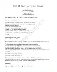 Bank Teller Job Description For Resume Mesmerizing Bank Teller Resume Objective Igniteresumes