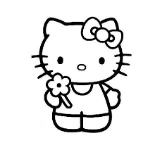 Disegni Da Colorare Di Hello Kitty 8 Passi