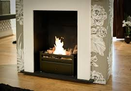 small ethanol fireplace insert