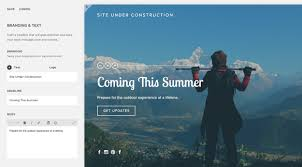 squarespace help creating an under construction page option 1 use a cover page