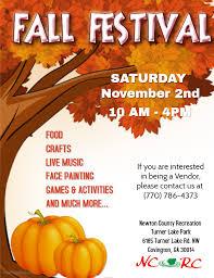 Fall Festival Flier Fall Festival