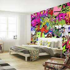 graffiti bedroom walls. aliexpress.com : buy graffiti boys urban art photo wallpaper custom wall mural street culture large bedroom hallway kid room decor from walls e