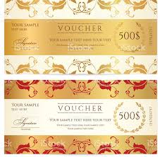 voucher gift certificate coupon template floral swirl scroll voucher gift certificate coupon template floral swirl scroll border royalty