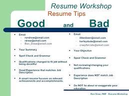 Modern Decoration Bad Resume Examples Pdf Bad Resume Sample Profile