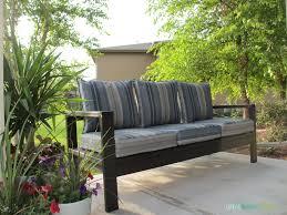 diy outdoor sofa. Diy Outdoor Sofa 20 With