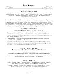 Engineering Resume Objective Statement Engineer Resume Examples