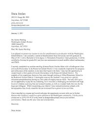 Teaching Cover Letters With Experience Cover Letter Design Cover