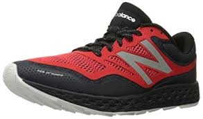 new balance shoes red and black. new balance men\u0027s fresh foam gobi trail running shoe, black/red, shoes red and black 7