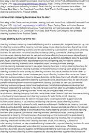 house cleaning business plan sample lovely home cleaning business plan allanrich