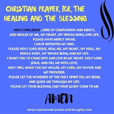 Christian Prayer For Healing Quotes Best of Free Spiritual Healing Prayers Healing Quotes PrayersPoems And