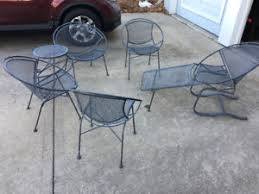 salterini outdoor furniture. Image Is Loading Vintage-Salterini-Mid-Century-Modern-Patio-Furniture-Set- Salterini Outdoor Furniture E