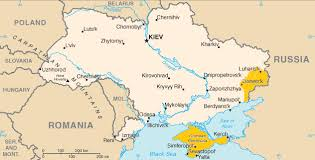 Ukraine is located in eastern europe and is the second largest country on the continent after russia. Geographie De L Ukraine Wikipedia