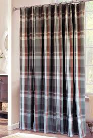 Shower Curtains Cabin Decor 17 Best Ideas About Plaid Shower Curtain On Pinterest Cabin