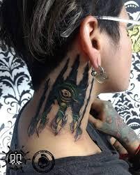30 татуировок которые стали украшением на шее у своих владельцев