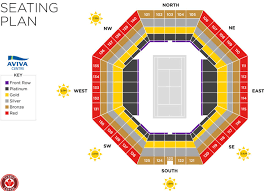 Champion Square Seating Chart Tennis Tickets Tennis Tour Packages Championship Tennis