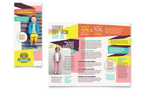 Sales Pamphlets Retail Sales Pamphlet Templates Design Examples