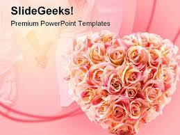 Wedding Powerpoint Template Free Flowers Wedding Powerpoint Template 0610 Powerpoint Templates