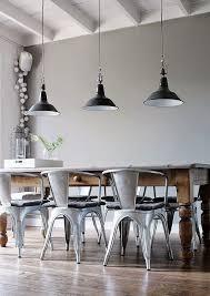 Statement light industrial-style-decor-ideas-for your-home Industrial style  decor ideas
