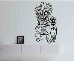 Small Picture Tiki Surfer Hawaii Vinyl Wall Decal Sticker Art Decor Bedroom