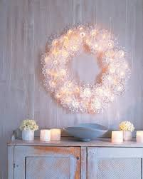 string light diy ideas for cool home decor paper doily wreath lights are fun for