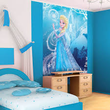 disney wallpaper for bedrooms. disney frozen elsa portrait photo wallpaper wall mural (cn-840ve) for bedrooms 3