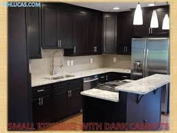 Kitchen Cabinets L Shaped Designs With Breakfast Bar Inside Black Small  Idea 13
