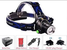 Самый лучший <b>налобный фонарь LED</b> XM-L T6 HEADLIGHT ...