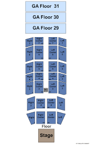 Mount Airy Casino Seating Chart