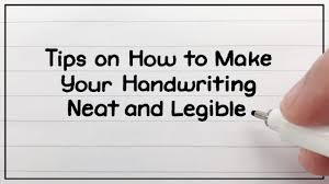 Cool Fonts To Write In How To Write Neatly Improve Your Handwriting