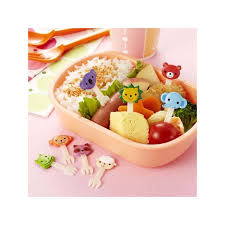 Bento Box Decorations Japanese Bento Box Accessories Food Pick Cute Animal Fork 100 pcs fo 12