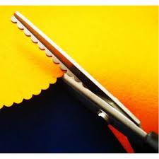 Ножницы фигурные волна 5 мм: лучшая цена, гарантия качества, доставка по  Украине | Navigator - Магазин швейного оборудования