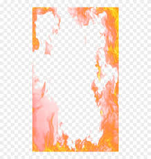 flame border png fire photo