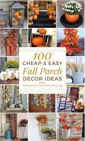 Image Corn 100 Cheap And Easy Fall Porch Decor Ideas fall falldecor diy homedecor thanksgiving Pinterest 100 Cheap And Easy Fall Porch Decor Ideas Cheap Diy Home And