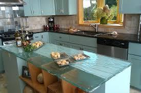 diy glass countertop ideas kitchen contemporary with black blue cabinets black diy concrete glass countertops