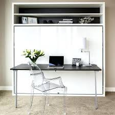 desk murphy bed queen wall space saving beds home decor photos costco i76 bed