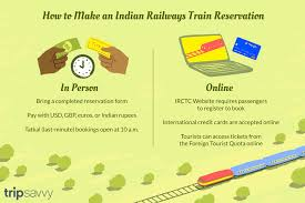 Current Reservation After Chart Preparation Online How To A Make An Indian Railways Train Reservation