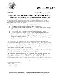 How To Make Resume For Summer Job Summer Job Resume Sample Therpgmovie 6