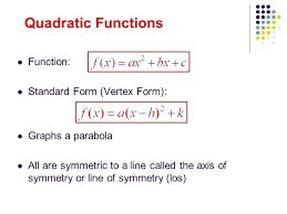 quadratic equation to vertex form calculator math parts of a parabola and vertex form
