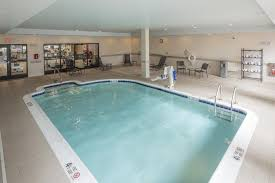 the swimming pool at or near hilton garden inn albany medical center