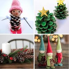 40 Creative Pinecone Crafts For Your Holiday Decorations Christmas Pine Cone Crafts