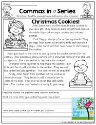 2nd Grade Christmas Printable – Festival Collections
