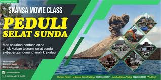 Desain Banner Desain Banner Peduli Selat Sunda Smc Skansa Movie Class