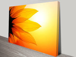 Canvas Art Flower Of The Sun Canvas Art Print Sunflower Wall Art