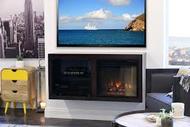 electric fireplace tv console combo stand canada fireplace tv stand combo costco whalen console